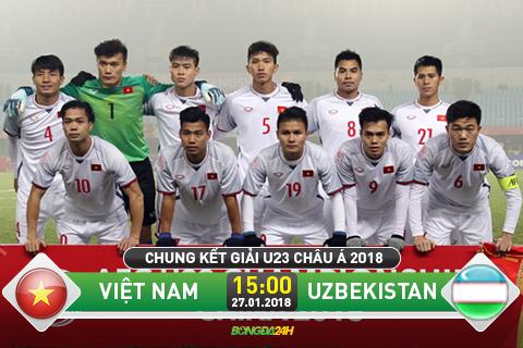 Đội U23 Uzbekistan đang chơi tốt ở giải U23 châu Á. Họ đã vào chung kết và sẽ chạm trán U23 Việt Nam.