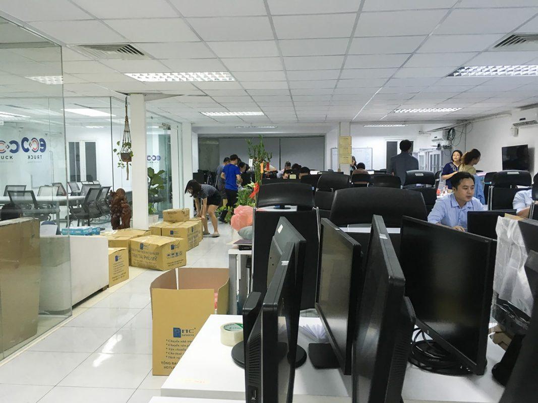 Chuyển văn phòng Xá Lợi